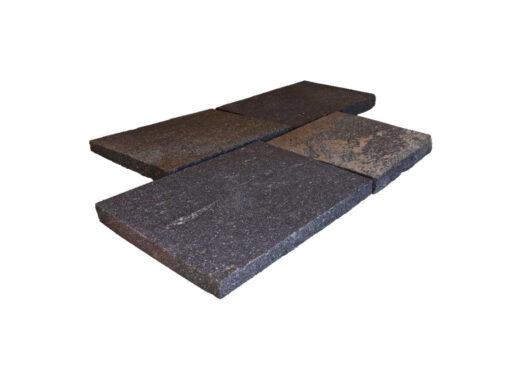 Porphyr-Bodenplatten als Bahnenware (Italien)