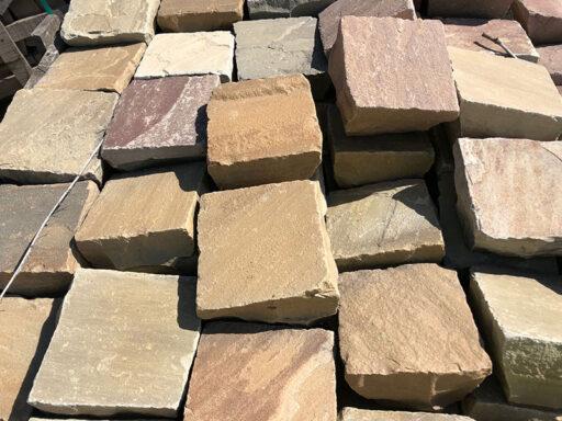 Sandstein-Mittelpflaster