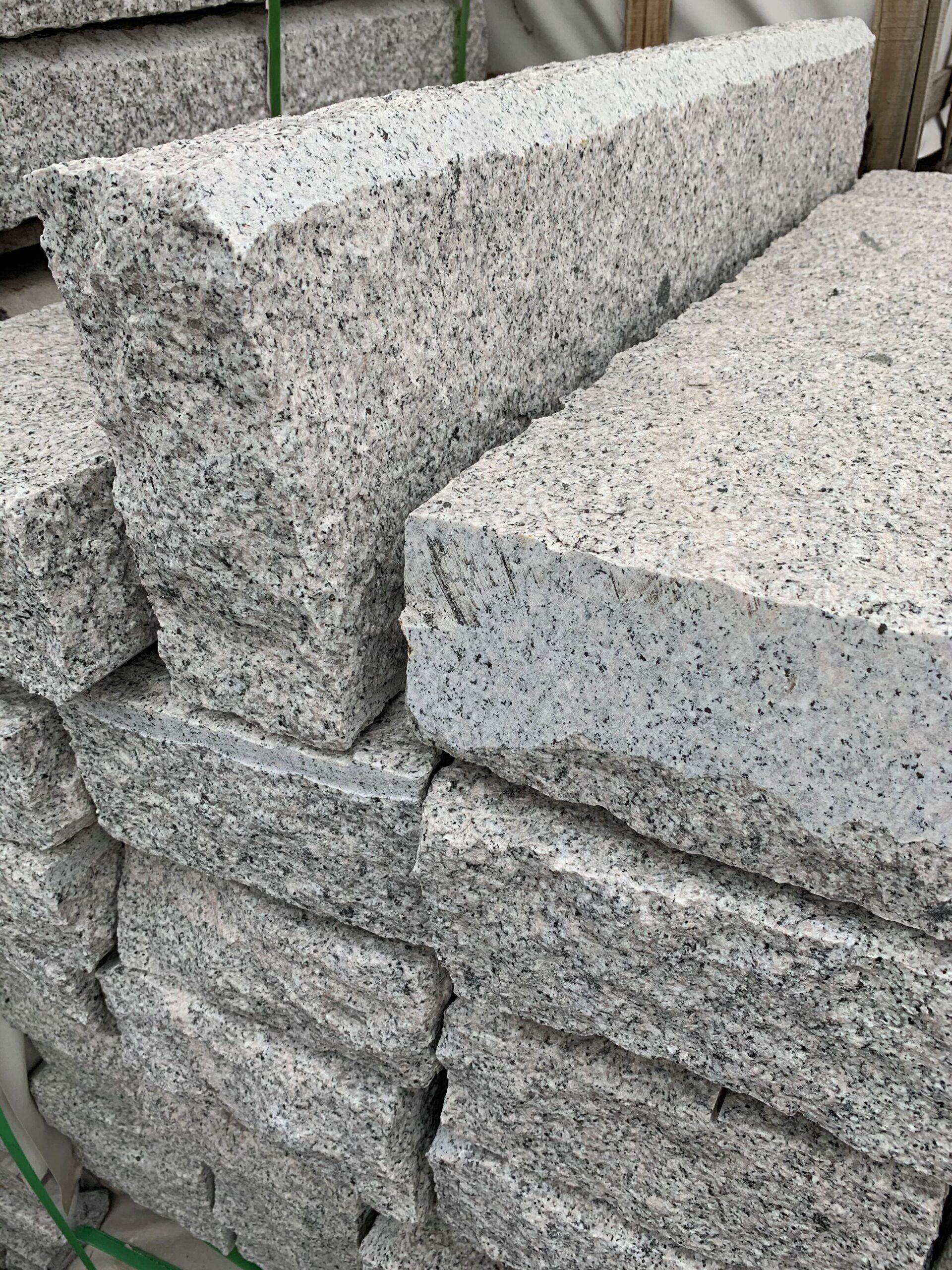Granit-Tiefbord B7, mit Fase